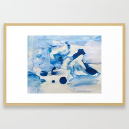 Last Christmas I gave you my heart Framed Art Print