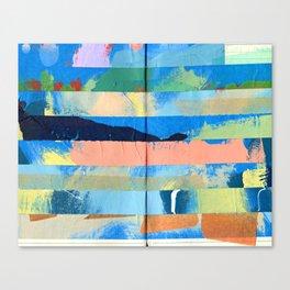 Tape Diary 5 Canvas Print