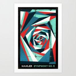 Mahler - Symphony No. 5 Art Print