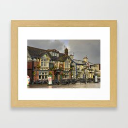 Poole Pubs Framed Art Print