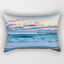 Pink Clouds Over The Atlantic Rectangular Pillow