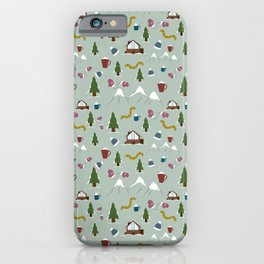 Winter Vacation iPhone Case