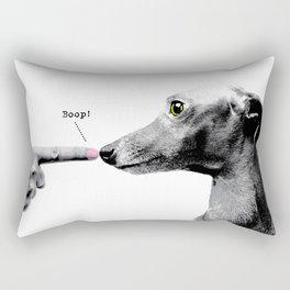 Boop! Italian Greyhound Rectangular Pillow