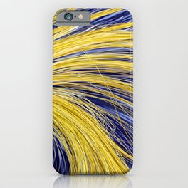 Light Burst's - Golden Light 1 iPhone Case