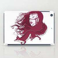 kitsune iPad Cases featuring Kitsune by Stevyn Llewellyn