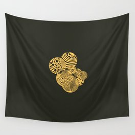 Zen the circles Wall Tapestry