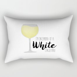 I'm Dreaming Of A White Christmas Rectangular Pillow