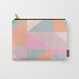 Sweet Candy Pastel Shapes Carry-All Pouch