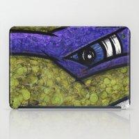 teenage mutant ninja turtles iPad Cases featuring Donatello (Teenage Mutant Ninja Turtles) by chris panila