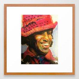 Sly Stone Framed Art Print