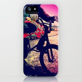 Unknown Racer iPhone Case