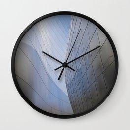 METALLIC WAVES Wall Clock