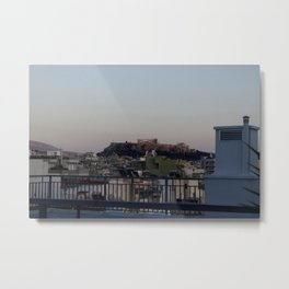 Views from a Hotel Roof Metal Print