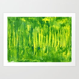 grass land Art Print