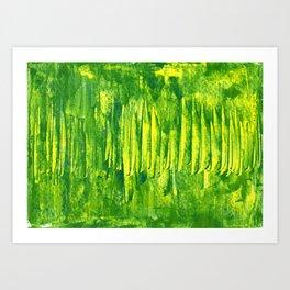 grass land Art Print