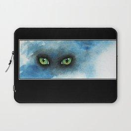 Green Eyes Laptop Sleeve