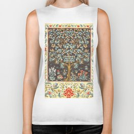 "William Morris ""Tree of life"" 1. Biker Tank"