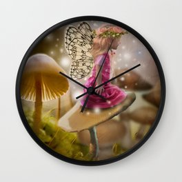 Fairy Dancer Wall Clock