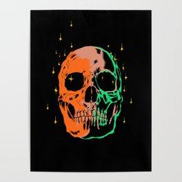 Space skull v1 Poster