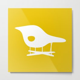 Eames La Chaise - Inverted Metal Print