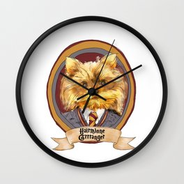 Hairy Pawter's: Hairmione Grrranger Wall Clock