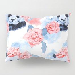 Panda Rose Pillow Sham