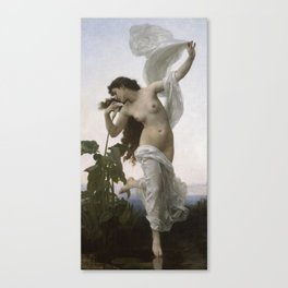 William-Adolphe Bouguereau - Dawn Canvas Print