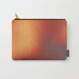 Abstract noise red Carry-All Pouch