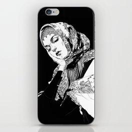 Lady Russia. Yury Fadeev© iPhone Skin