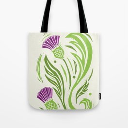 Thistle - Color Tote Bag