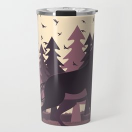 Big Bad Wolf Travel Mug
