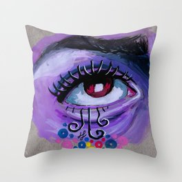 """i live in unreality"" Throw Pillow"