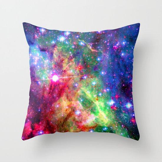 Cosmic Magic Throw Pillow