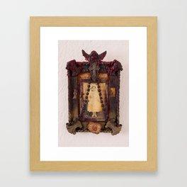 Sacred Heart Memorial Framed Art Print