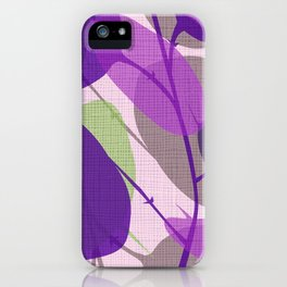 Lunaria Lavender iPhone Case