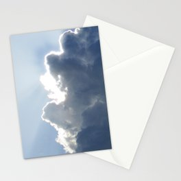 Sun Breaking Through Clouds Stationery Cards