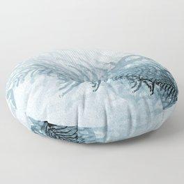 Fish And Bones Floor Pillow