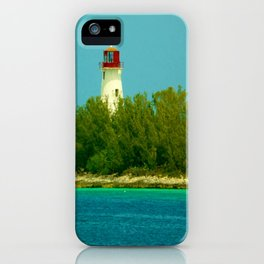 Lighthouse by the Ocean iPhone Case