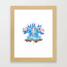 Cerberus Framed Art Print