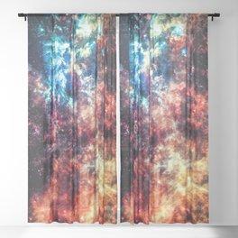Waterfall Nebula Sheer Curtain