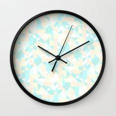 Aztec Pastel Wall Clock