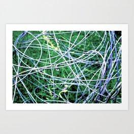 The Chaos - Original Photographic Artwork Art Print