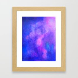 how to clear the river Framed Art Print