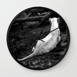 Lioness: Lounging Around Wall Clock