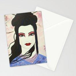 Gothic Geisha Stationery Cards
