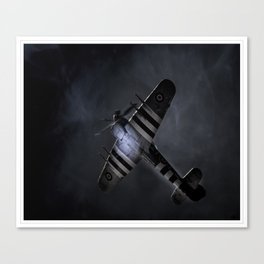 In The Searchlight Canvas Print