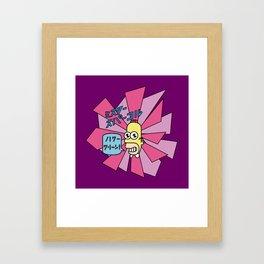 Mr. Sparkle Framed Art Print