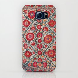 Kermina Suzani Uzbekistan Embroidery Print iPhone Case