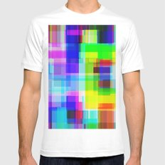 Colors#11 Mens Fitted Tee MEDIUM White