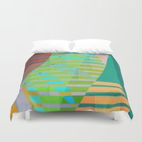 lama Duvet Covers featuring A Lama, o Mangue e o Mar (The Mud, the Mangue and the Sea) by Fernando Vieira